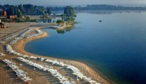 Голубое озеро в Подгорцах