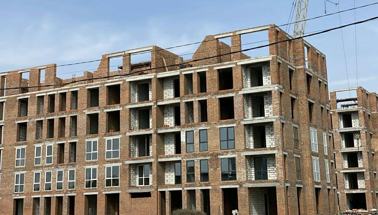 """Дом """"Власна № 3"""": ведутся подготовительные работы для вязки и сварки каркаса плиты перекрытия 6 этажа"""