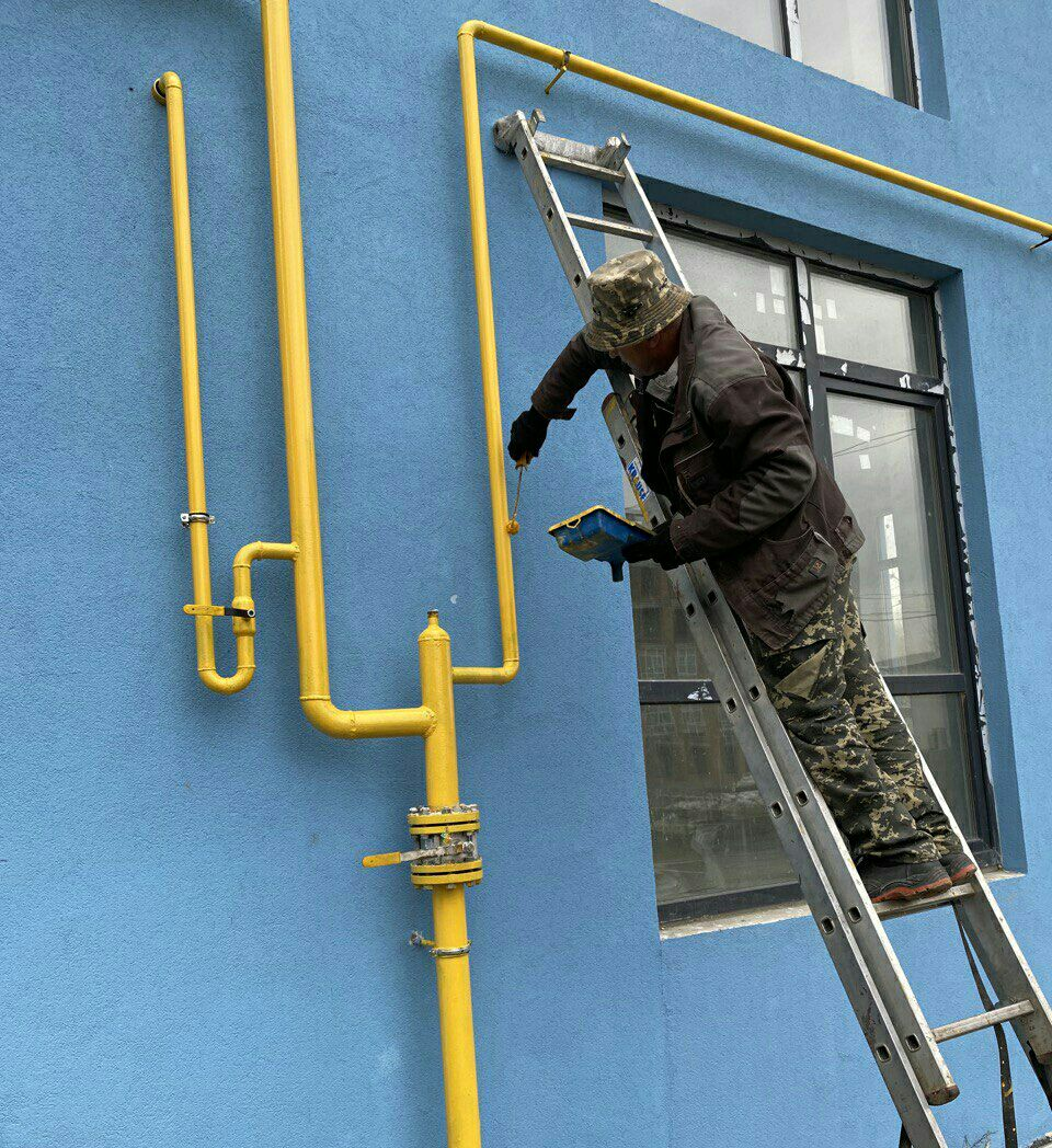"""Дом """"Власна 2"""" : заканчивается монтаж газапроводной  системы"""